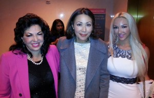 With Today show anchor, Ann Curry