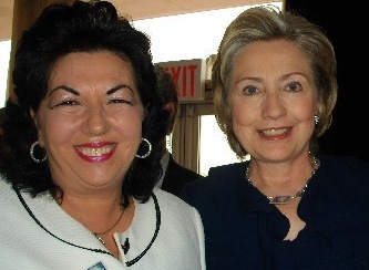 carmen harra and hillary clinton