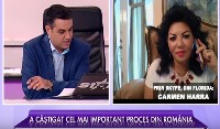 carmen harra on romanian tv show