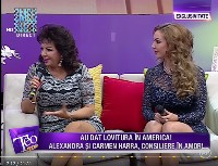 carmen and alexandra harra on the teo show